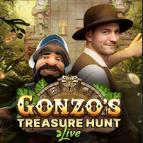 Gonzo's Treasure Hunt Live Online Casino Game